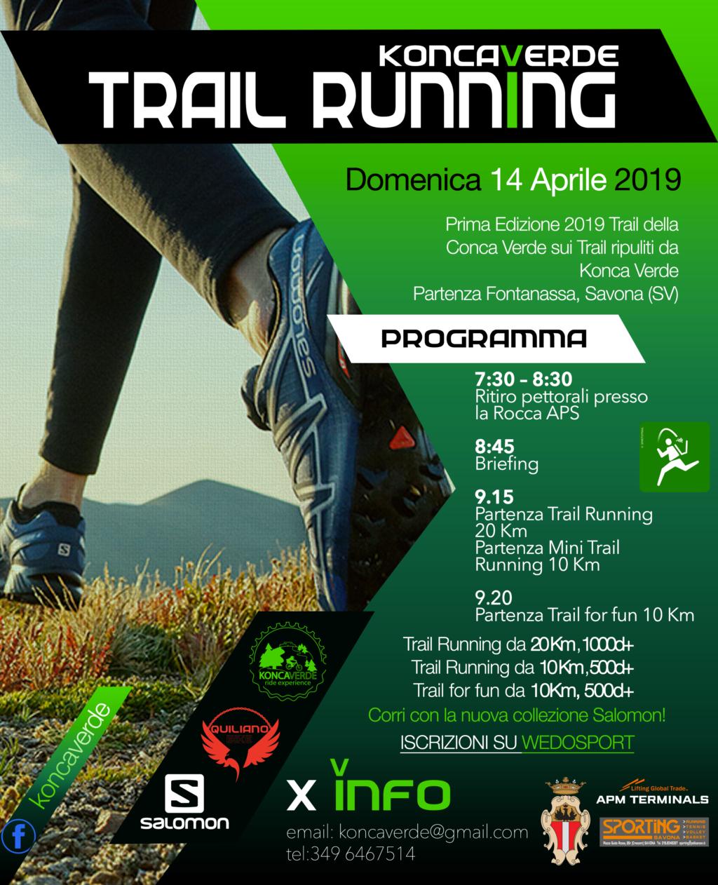 Trail Running Koncaverde 2019 Locandina